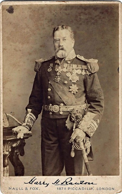 Admiral Sir Harry Rawson (Cabinet card by Maull and Fox, 187A Piccadilly, London.)