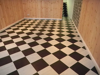 Anstruther CHSS - Black and White tile (19)
