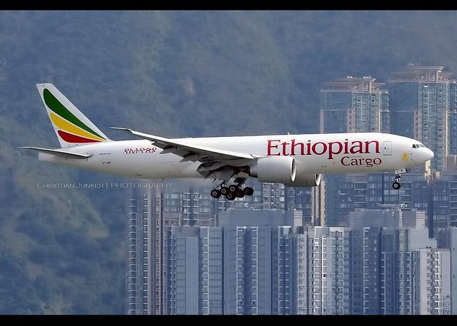 B777-200F | Ethiopian Cargo | ET-ARI | VHHH