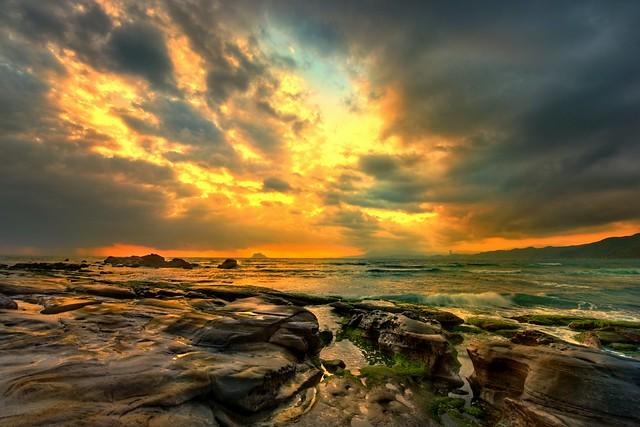 北海 雲湧