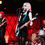 Wed, 24/01/2018 - 8:19pm - Sunflower Bean - Julia Cumming, Nick Kivlen and Jacob Faber - perform for WFUV Public Radio at Rockwood Music Hall in New York City, 1/24/18. Hosted by Russ Borris. Photo by Gus Philippas/WFUV