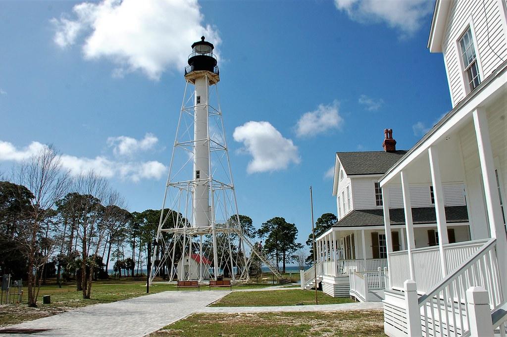 Florida, Port Saint Joe, Cape San Blas Lighthouse, Keeper