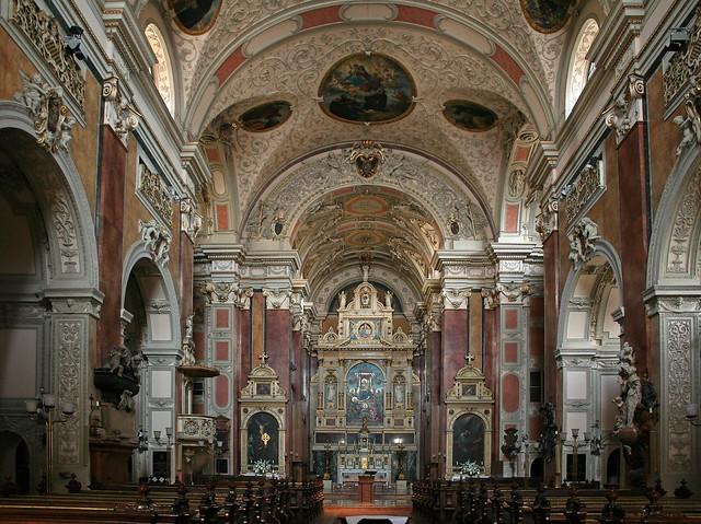 In der Schottenkirche in Wien