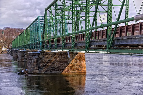 d610 tamron28300xrdiif newhope newjersey ononesoftware on1photoraw2018 landscape delawareriver pennsylvania lambertville reflections colorefex bridge