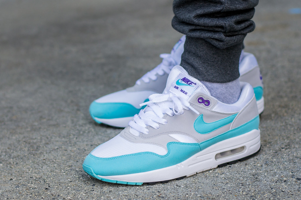 4a4b7ef66c Nike Air Max 1 Aqua Anniversary wdywt | My review of these: … | Flickr