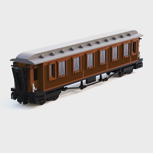 Reworket the teak-carriage tonight. Gone from 36x7 studs to 50x8. Now in full 1:45 scale. Next up is the engine. Full re-work of Dovregubben. Previous attempt was a bit small. | by henlorentzen