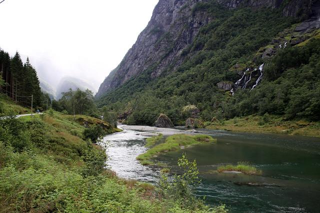 The Flam Valley near Flåm