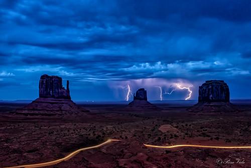 Monument Valley Dusk