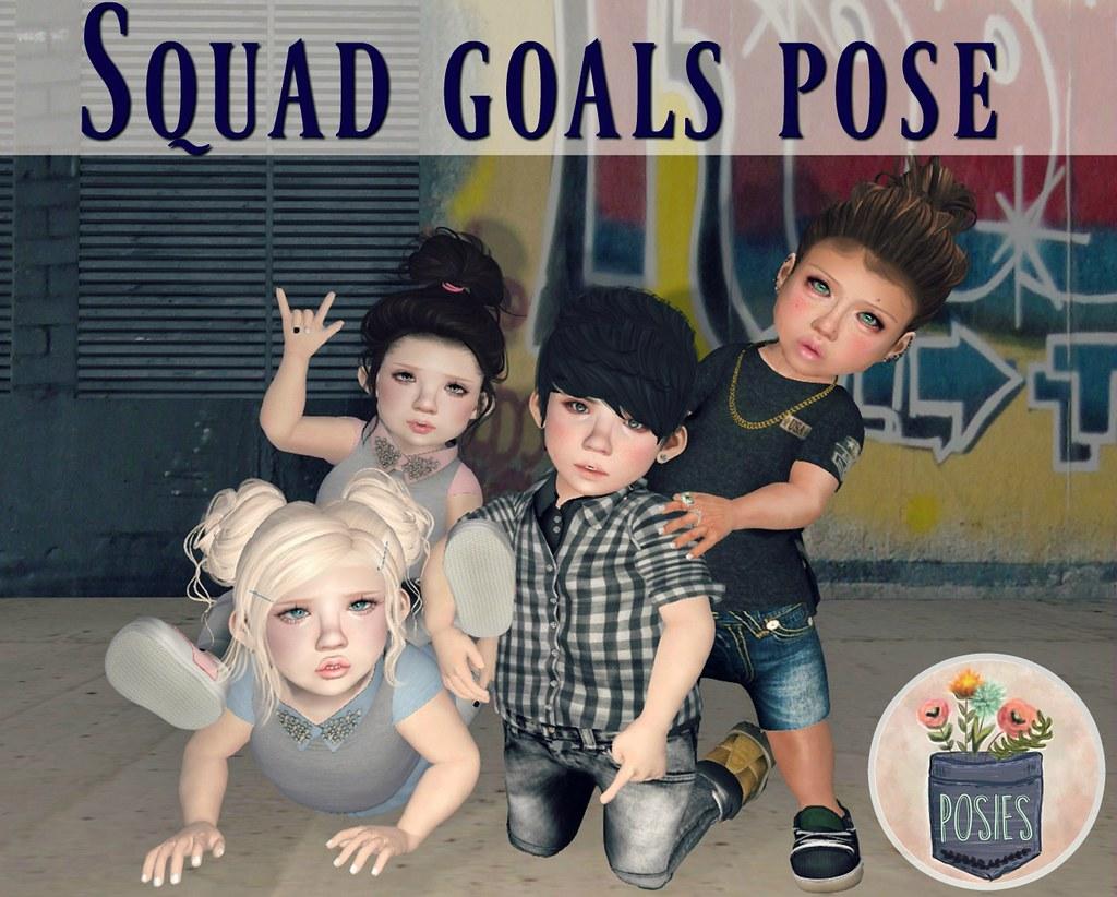 Boy Squad Goals