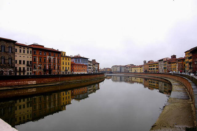 Finalmente a Pisa