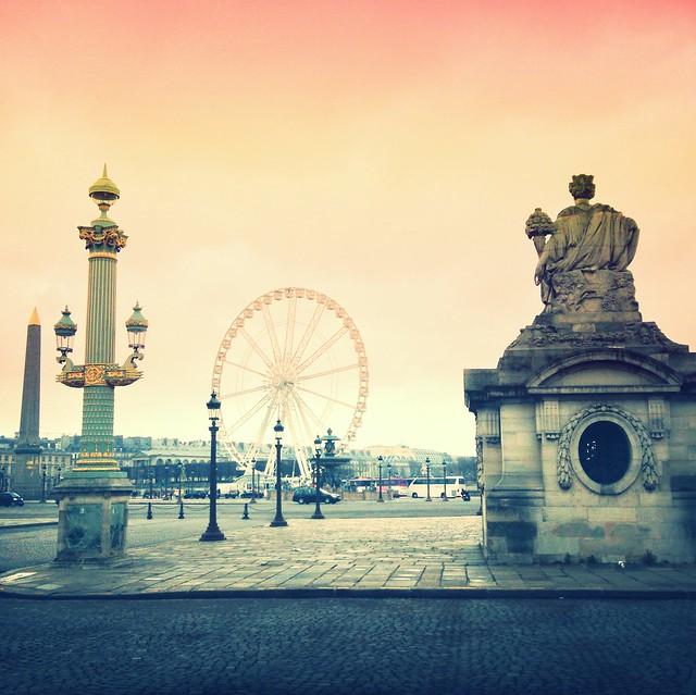 Place de la Concorde - Paris #iphone