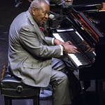 Freddy Cole Quartet at Kirk Douglas Theatre, Saturday, January 19, 2013. Photos reproduced by Bob Barry's kind permission.