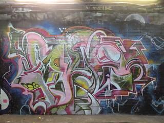 Leake Street graffiti | by duncan