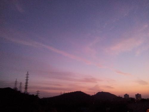 sky sunrise dawn flickrandroidapp:filter=none