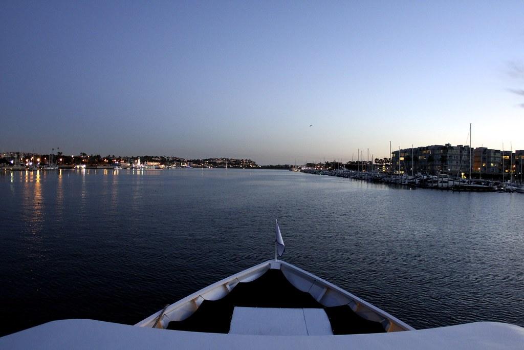 Marina Del Rey From Dandeana S Bow Fantasea Yachts Yacht Flickr