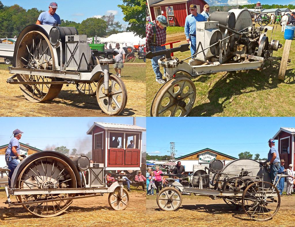 "1913 ""Little Bull"" Three-wheeled Bull Tractor (at the Buck"