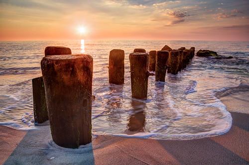 bayheadvacation hdr sunrise water ocean 6d canon beach