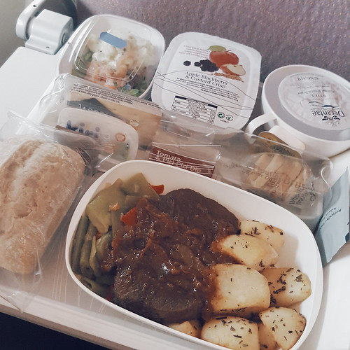 Emirates food is pretty decent. | by damselinlondon
