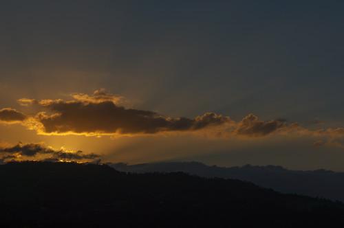sunset wolken papo lavega jarabacoa karibik dominikanischerepublik nordamerika mivista
