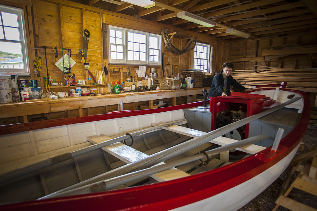 Workshop Wooden Boat Museum Of Newfoundland And Labrado Flickr