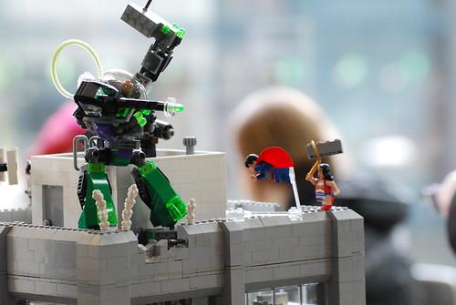 Lego Superman! and Wonder Woman!