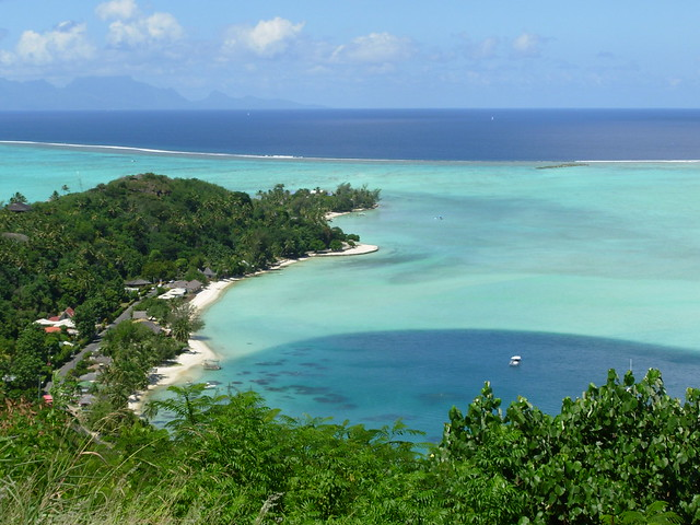 lagon polynesie
