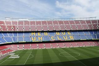 Camp Nou Estadio Do Barcelona Fc Barcelona Espanha Flickr