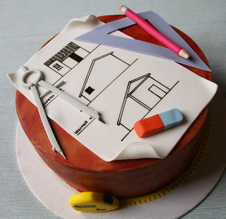 The Architect's Cake   by Passione: Cupcakes!