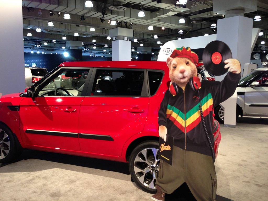 Kia Soul Hamster >> Kia Soul Hip Hop Hamster At The Ny Auto Show Nyias Flickr