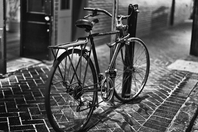 Bike on Bourbon Street