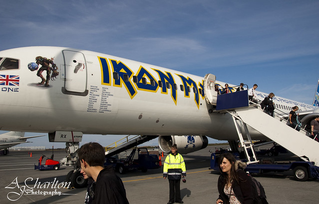 Photograph 004 - Iron Maiden Plane