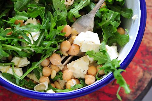 chickpea feta & pinenut salad-2 | by jules:stonesoup