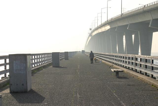 Dumbarton Pier in the Haze