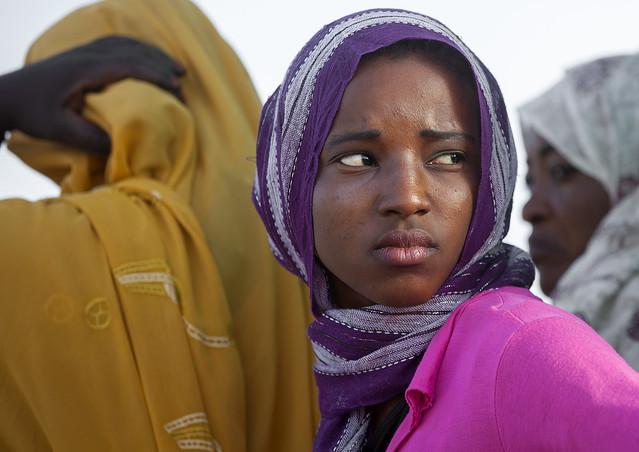 Sudanese Young Woman, Khartoum, Sudan