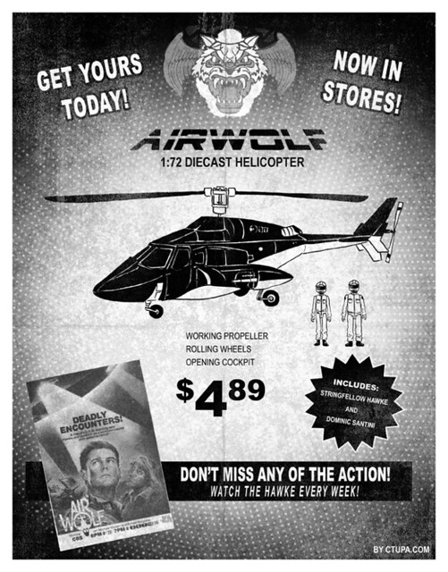 Tupa Airwolf toy ad