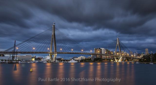 Anzac Bridge - Sydney NSW