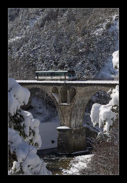Le Viaduc de Thorame-Haute des Chemins de Fer de Provence