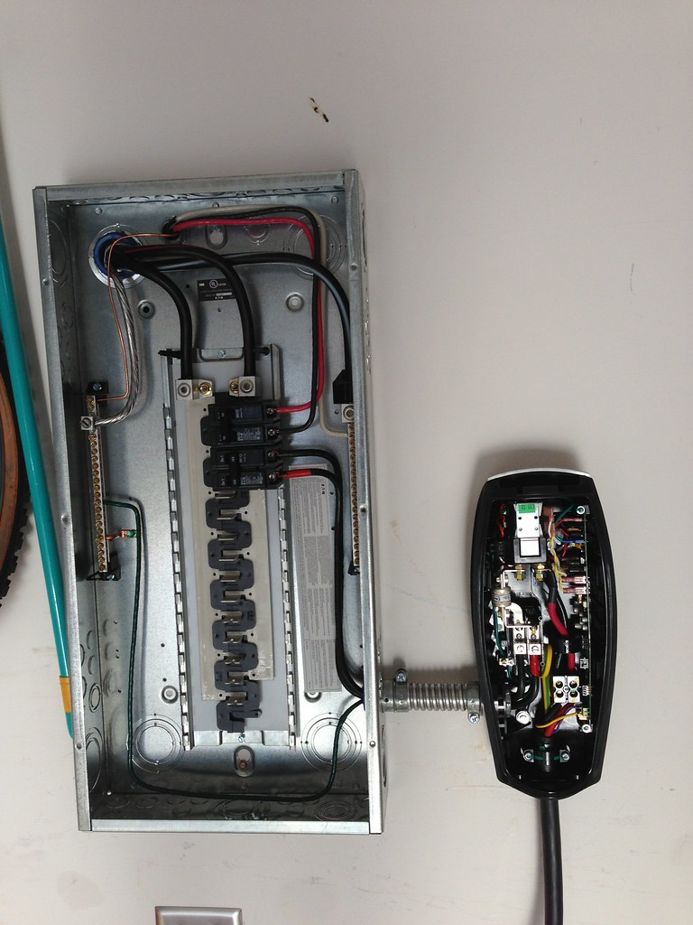 Tesla High Power Wall Charger Installation   Evan Fusco   Flickr
