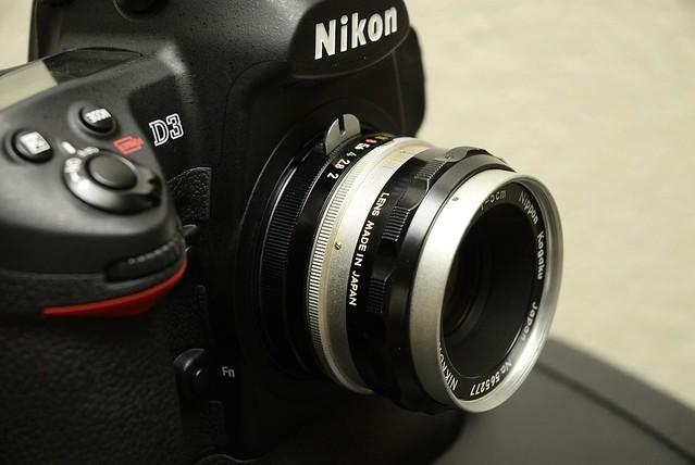 nikon nikkor 5cm 2 S  D3 Taken with D200  3