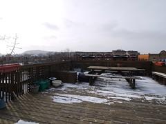 金, 2013-02-01 10:18 - Annickの屋上のテラス