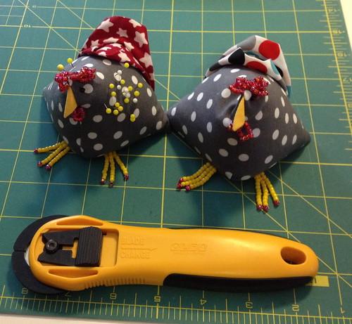 Chicken pincushions | by LLfasrn
