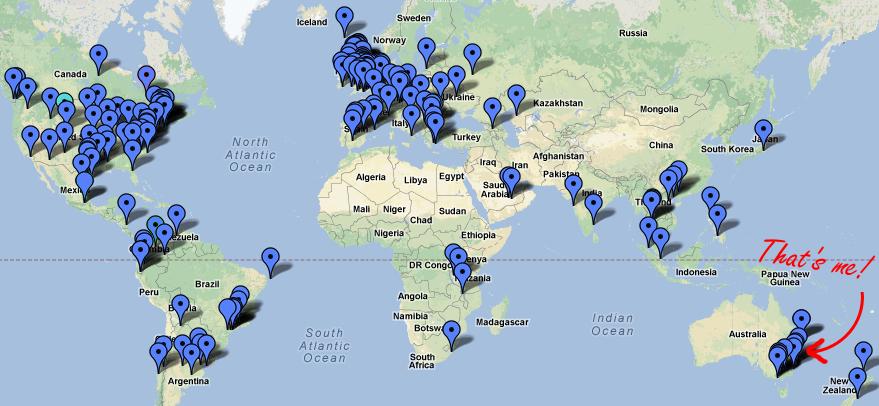EDCMOOC map