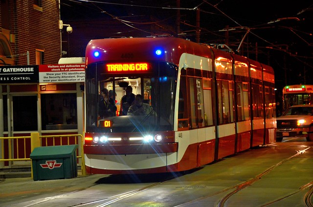 TTC New LRV 4400 (5 Section) Bombardier Flexity Outlook Day 2 Testing
