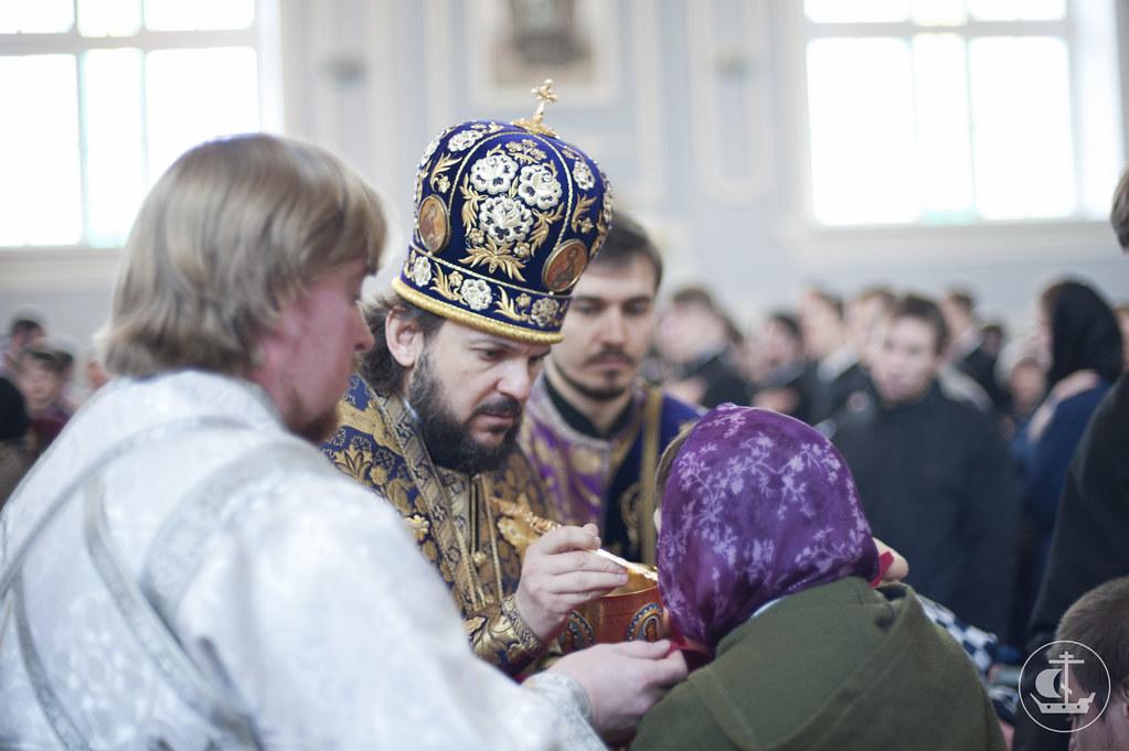23 марта 2013, Литургия в день памяти 40 мучеников Севастийских