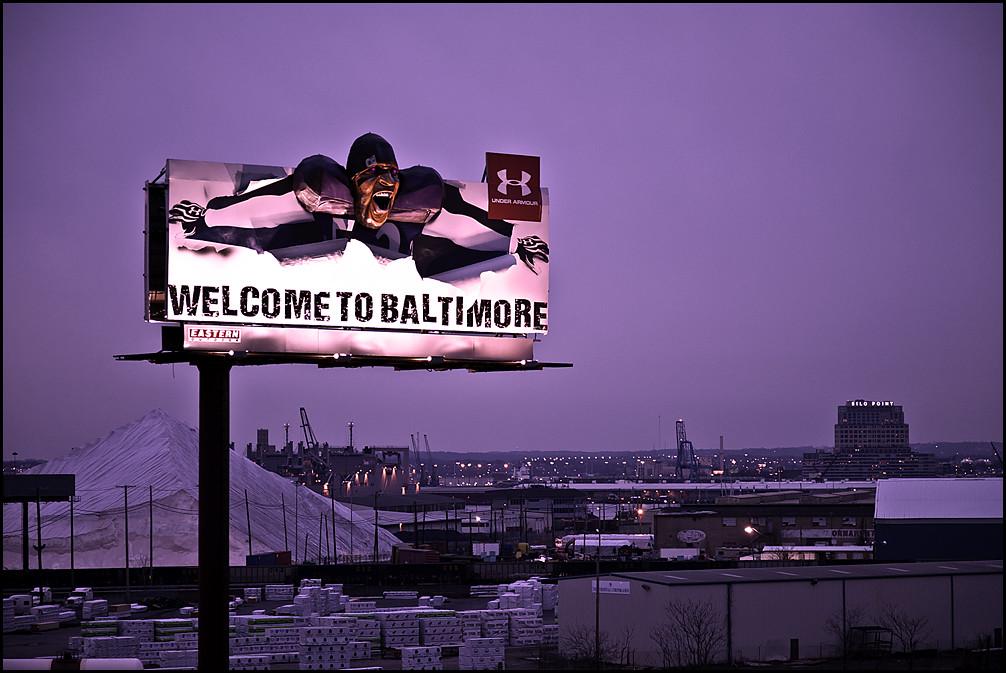 kup tanio sprzedaż obuwia słodkie tanie Under Armour billboard | Purple tint. | Pat Gavin | Flickr