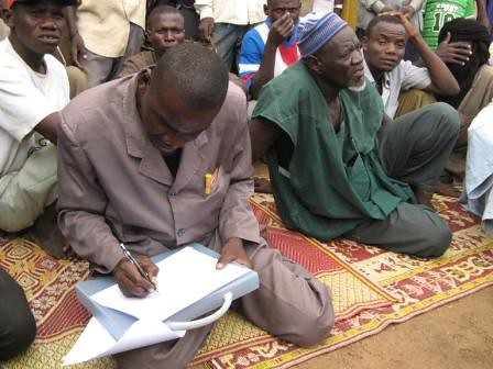 Niger - GEF/SGP - Community meeting