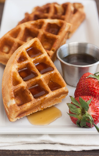 100% Whole Wheat Waffles | by Tracey's Culinary Adventures