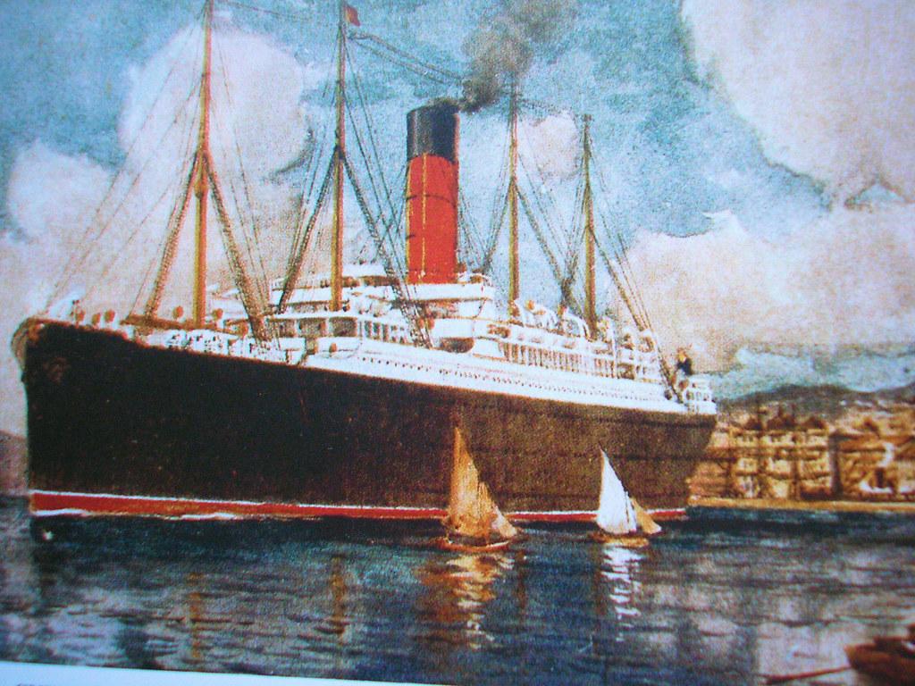 Rms Carpathia Color Rms Carpathia Was A Cunard Line Trans Flickr