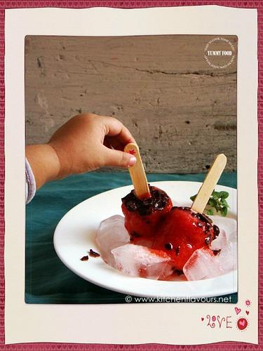 Strawberry Masala Pops | by lubnakarim06
