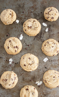 Mini Coconut Chocolate Chip Cookies | by Tracey's Culinary Adventures